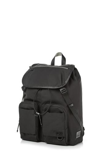 Samsonite Red black Samsonite RED Arlon Flap Backpack EAA31ACD6E1D66GS_1