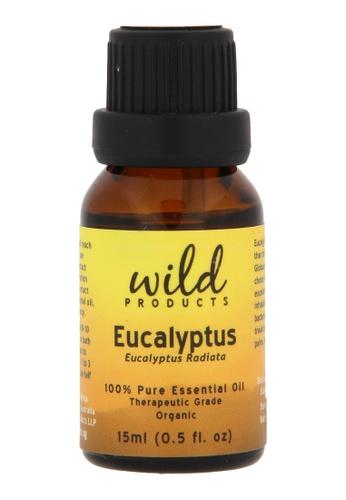 Wild Products Eucalyptus Essential Oil (Eucalyptus Radiata) Organic - 15ml 54D2FBEFDC9034GS_1
