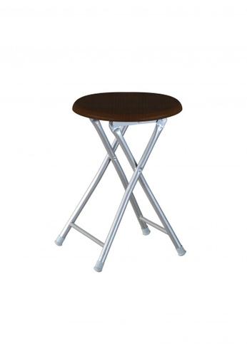 San-Yang Furniture brown Folding Stool Set of Five D61E8HLAABABC6GS_1