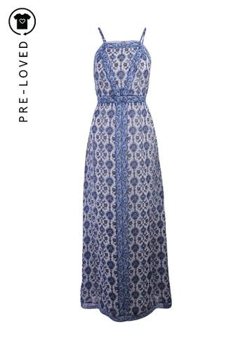 Joie blue Pre-Loved joie Floral Maxi Dress 07C93AA25FD95FGS_1