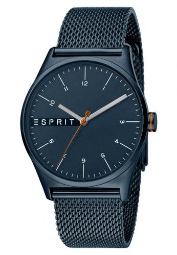 ESPRIT blue Esprit Men Essential Blue Mesh ES1G034M0095 D5FA2AC2DCC588GS_1