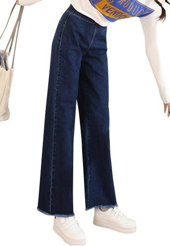 Sunnydaysweety blue 2018 New Loose Straight Jeans UA032107 ADBC6AA762895FGS_1