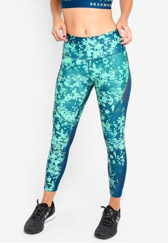 Under Armour green UA Hg Ankle Crop Double Nov Leggings FBE46AA164AE86GS_1
