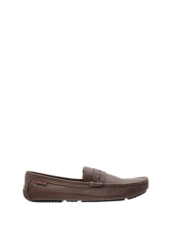 SEMBONIA brown SEMBONIA Men Nappa Leather Loafer (Dark Brown) 8252DSHCBAA9DBGS_1