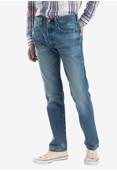 d18ee6d89bc Levi s blue 501® Men s Original Fit Jeans E8BEEAA03E9A11GS 1