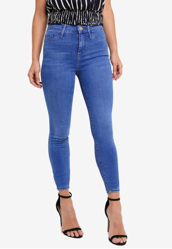 7cf58cffc5edf Shop River Island Molly Mid Rise Jeggings Online on ZALORA Philippines