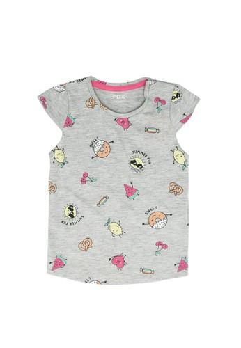 FOX Kids & Baby grey Baby Girl Foodie Tank Top 20540KA6EB93FBGS_1