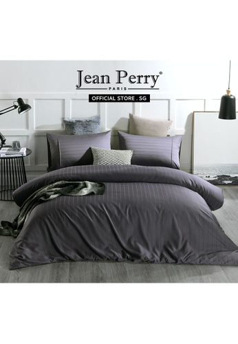 Jean Perry Jean Perry Armelle Dobby Ecosilk Collection 980TC - Excalibur - Fitted Sheet Set 65783HL0782DD5GS_1