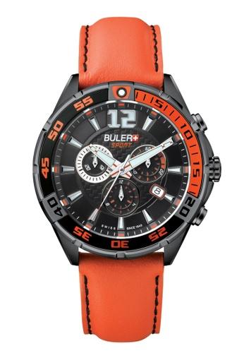 Buler black Buler Sport Watch - Black - Gents - Date - 6H BU689AC2VG0QHK_1