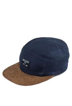 雙色拼接平沿帽