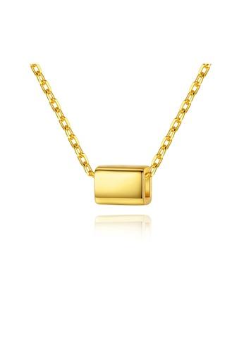 MATCH gold Premium Simple Design Necklace 6E114AC76FB78CGS_1