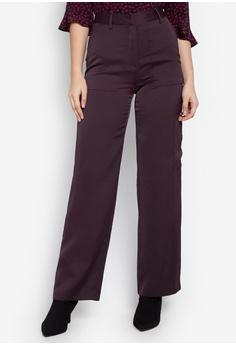 b00d3e9a8e468 TOPSHOP purple Satin Utility Wide Leg Trousers TO099AA0KP4IPH 1