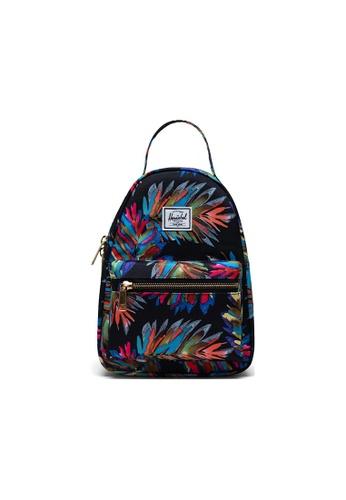 Herschel blue Herschel Nova Mini Backpacks - Painted Palm 8E380AC1589C21GS_1