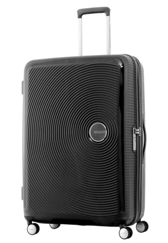 American Tourister black American Tourister Curio Spinner 80/30 Exp TSA AM536AC61ZYGSG_1