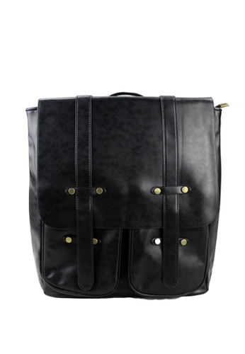 Shop OOTD Korean Style Vintage Leather Backpack Online on ZALORA Philippines bb4fb3d7e4d3