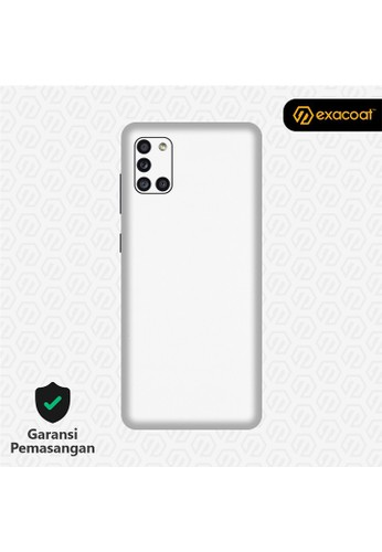Exacoat Galaxy A31 3M Skins True Colors - Matte White 845DCESEB84008GS_1
