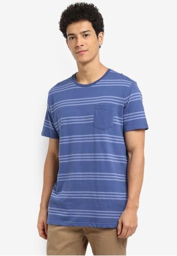 Cotton On 藍色 休閒短袖T恤 1F908AABCF6D47GS_1