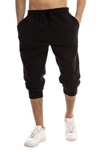 RYZ black RYZ Mobility 3/4 Cotton Black Pants. 1F074AAD2DB82EGS_1