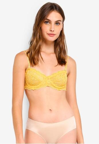 9bbb42238c Cotton On Body yellow Jojo Unlined Strapless Bra 75B6EUSACF73C8GS 1