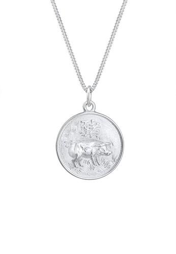Elli Germany silver Perhiasan Wanita Perak Asli - Silver Kalung Chinese Year of the Pig 7F2A2AC6F0A9E6GS_1