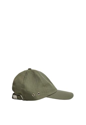 Mango green Cap With Visor 29152ACE09CDCEGS_1