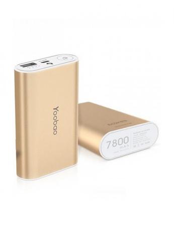 Latest Gadget gold Yoobao Master Power Bank 7800mAh M3 LA734AC43TDWPH_1