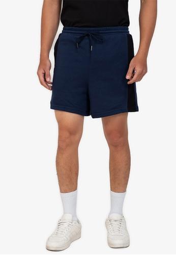 ZALORA BASICS multi Side Stripe Shorts 78B63AAD01F078GS_1