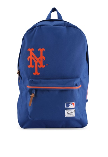 Herschel blue New York Mets Heritage Backpack B8BBBAC960309AGS_1