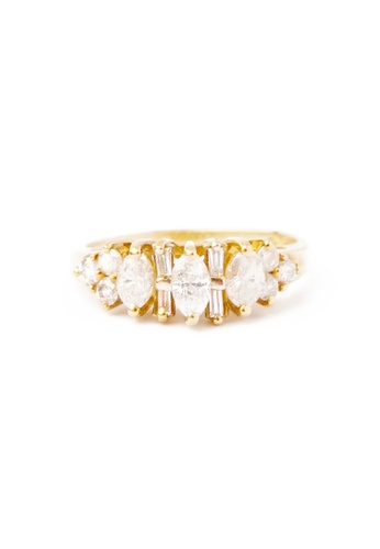 CEBUANA LHUILLIER JEWELRY gold 14K Karat Yellow Gold Lady Ring With Diamonds 32478AC560AACBGS_1