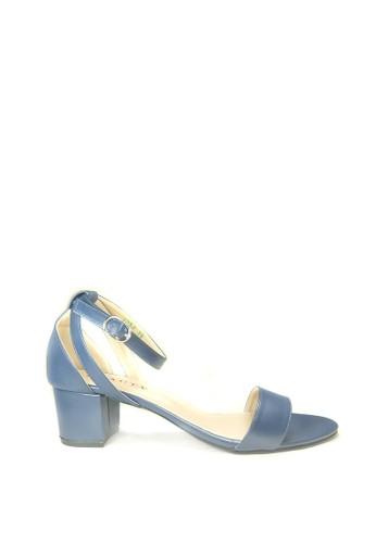 Beauty Shoes blue Beauty Shoes Mona 1253 Heels Blue BE516SH68YULID_1