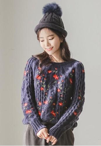 繡花針織上衣, 服飾esprit outlet 台灣, 毛衣& 針織外套