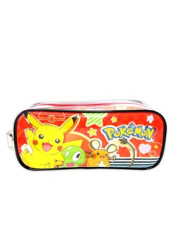 Pokemon Pokemon Transparent Square Pencil Bag Set BC7AEKC1F80B6AGS_1
