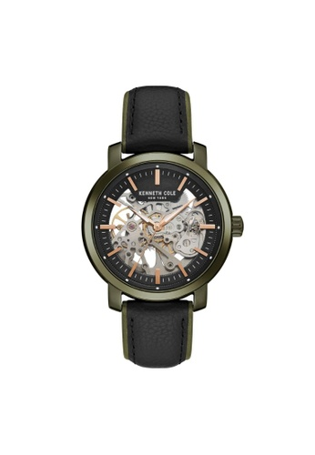 0968ef641e7 Kenneth Cole Mens Watch Automatic Skeleton KC50776006