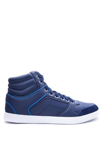 World Balance blue WB-BEAT Sneakers    WO444SH60OOTPH_1