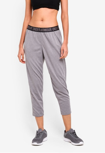 Under Armour grey Play Up Capri - Solid 64945AA8947796GS_1