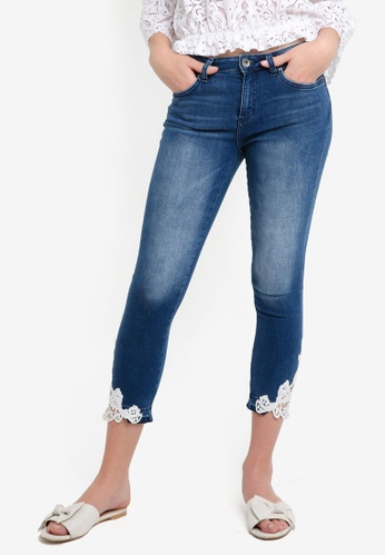 OVS blue Cropped Jeans 9DBCDAA9F43FC5GS_1