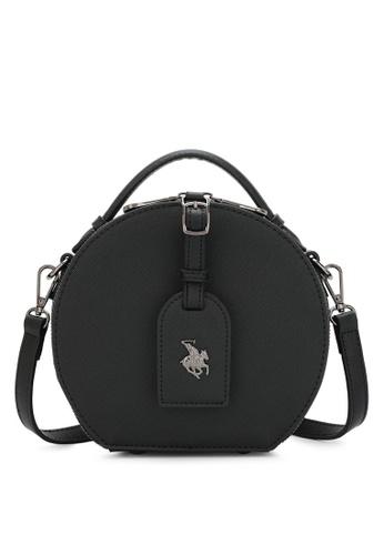 Swiss Polo black Logo Sling Bag 4783EAC6E0977EGS_1