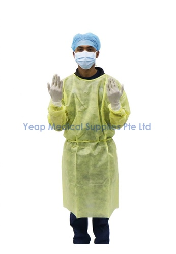 ASSURE Assure High Risk PPE Isolation Gown (AAMI Level 4) 94F87ESE260F1DGS_1