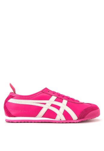 Onitsuka Tiger white and pink Mexico 66 Sneakers ON625SH26HTHPH_1
