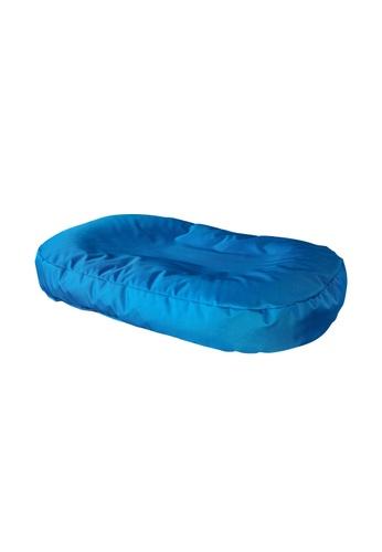 doob black and blue POOCHSTA' - spill-proof doob bean bag pet bed (Cola Caribbean) B3143HLEFE443CGS_1