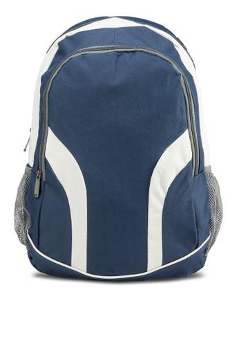 撞色拼接後背包, 包, 飾品esprit專櫃配件