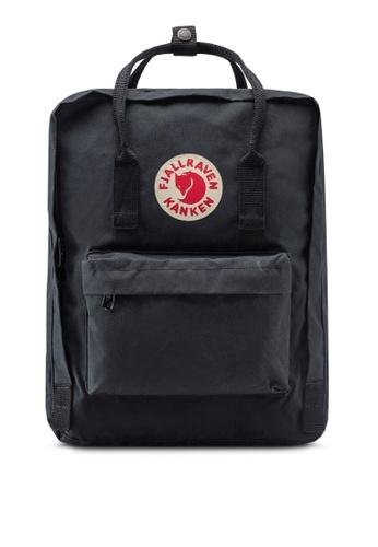 Fjallraven Kanken black Black Kanken Backpack FJ382AC27VAIMY_1