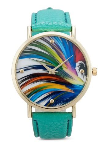 數碼彩印指針zalora 評價手錶, 錶類, 休閒型