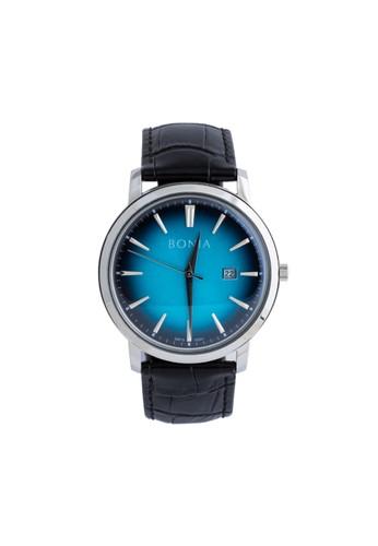 BONIA black Bonia - B10341-1382 - Jam Tangan Pria - Black BO710AC0VT9CID_1
