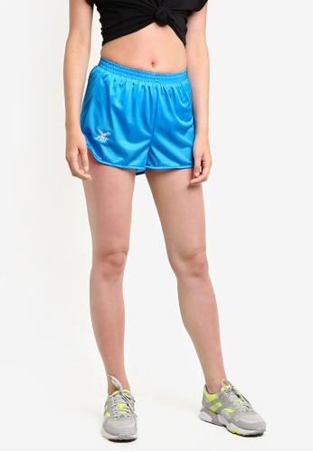 FBT blue Straight Cut Running Shorts FB961AA83EYQMY_1