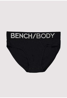 Hipster Brief with Bench Body Logo on Waist Band