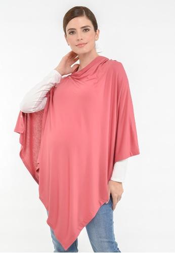 9months Maternity pink Pink Nursing Cover 25C9BAA3EC76B6GS_1