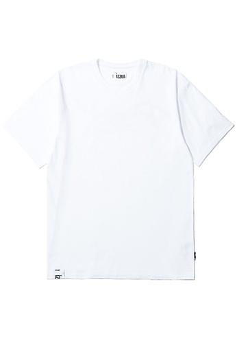 izzue white Reserved tee F48CBAA7887A3EGS_1