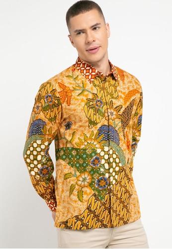ASANA orange Kinda Long Sleeves Premium Cotton 07EC2AA62277C6GS_1
