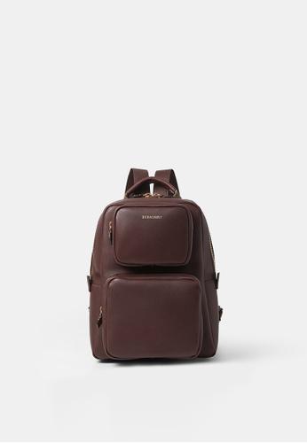 BERACAMY brown BERACAMY NORA Backpack - Cacao 031B4ACA55C5CFGS_1